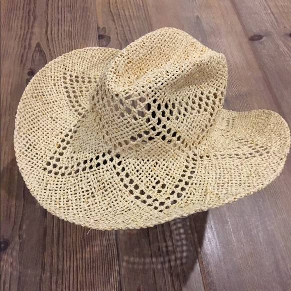 622ff8575 NWT Old Navy Straw Cowboy Hat - Medium NWT